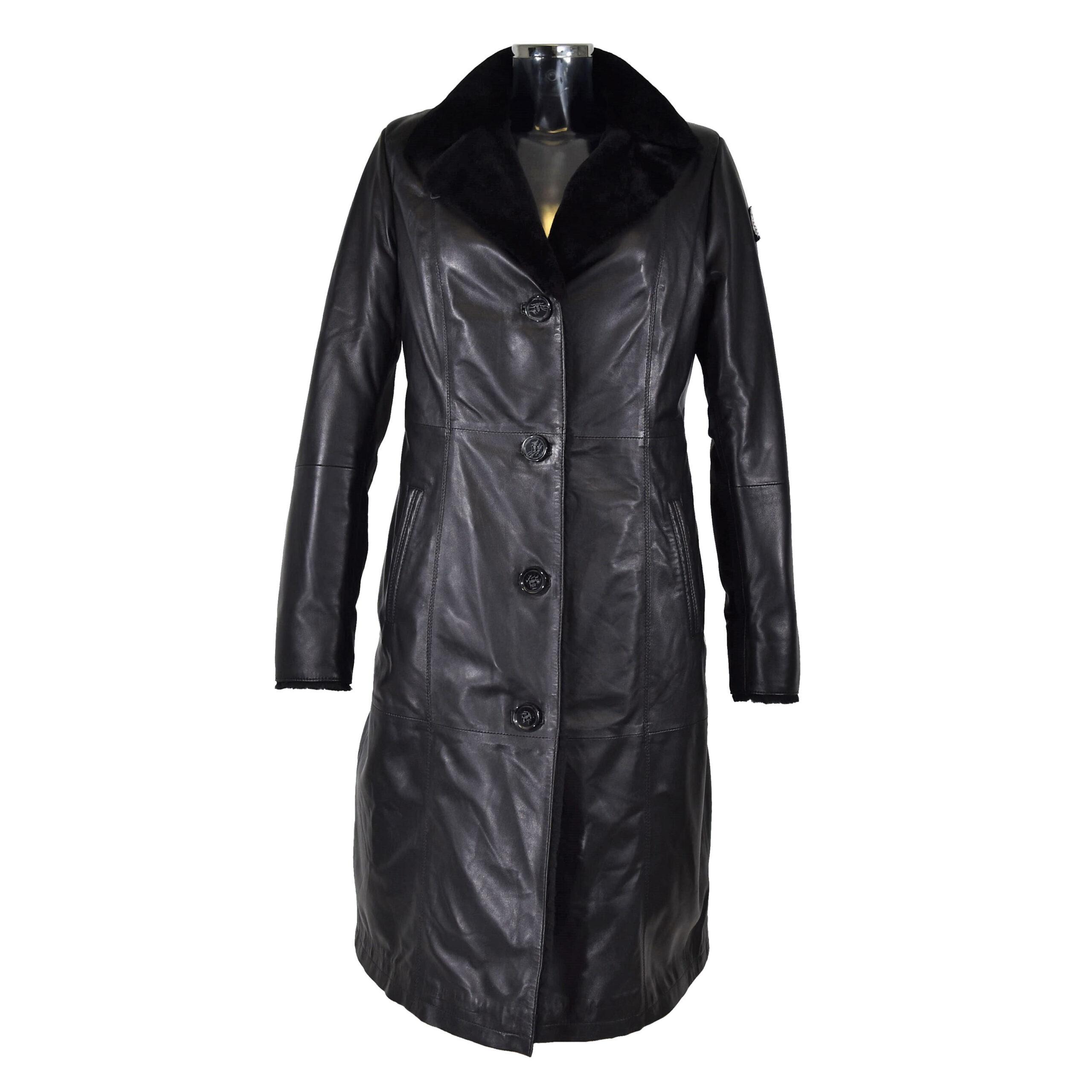Swiss Jacket ALEA Damen Lederjacke mit Lammfell